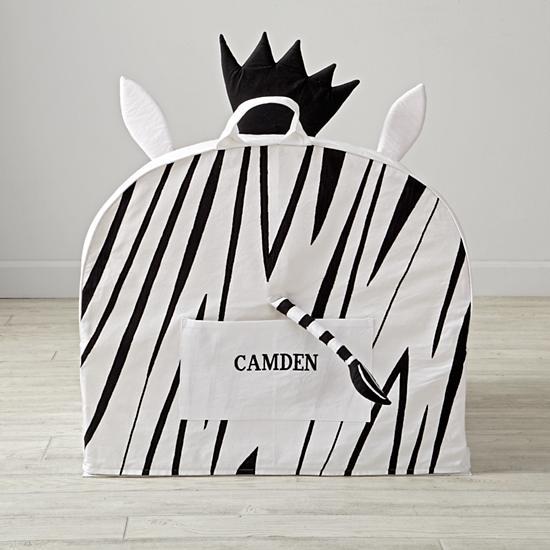 Land of Nod Zebra Chair (back)