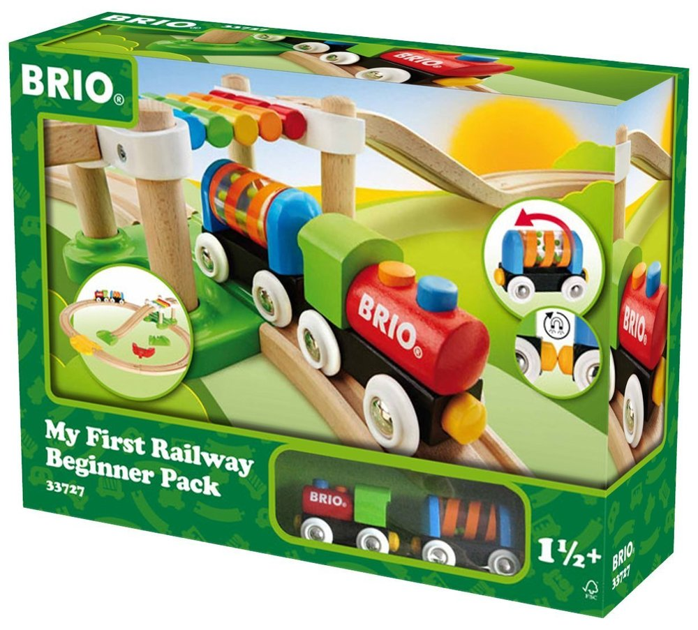 Copy of Brio My First Railway Beginner Pack Train Set
