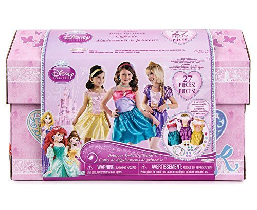 Disneys Princess Dress up trunk with accessories