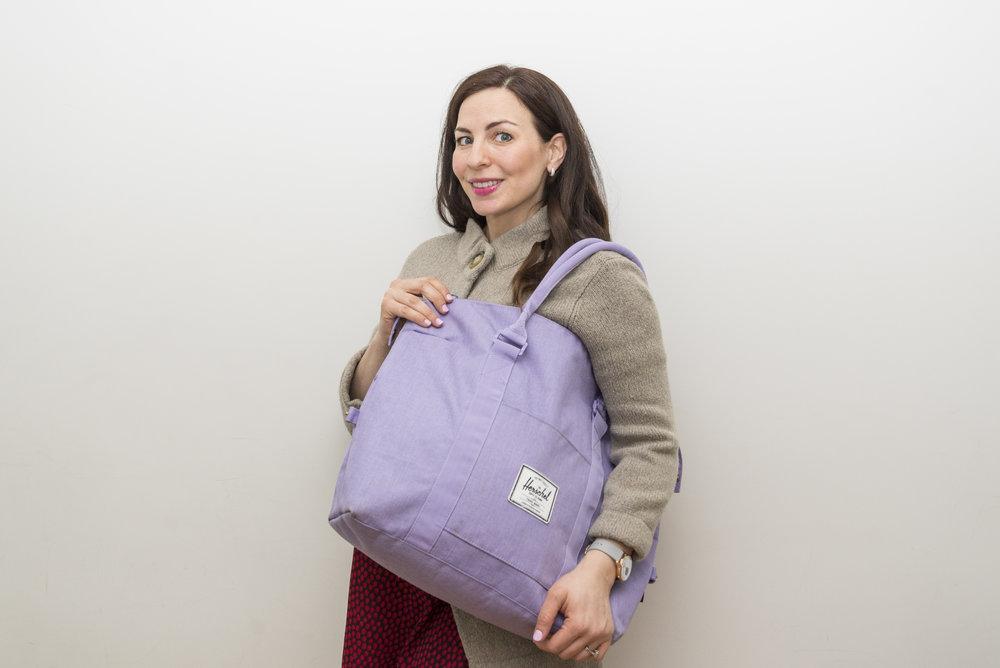 The Very Best Baby Stuff -- hospital bag (1)