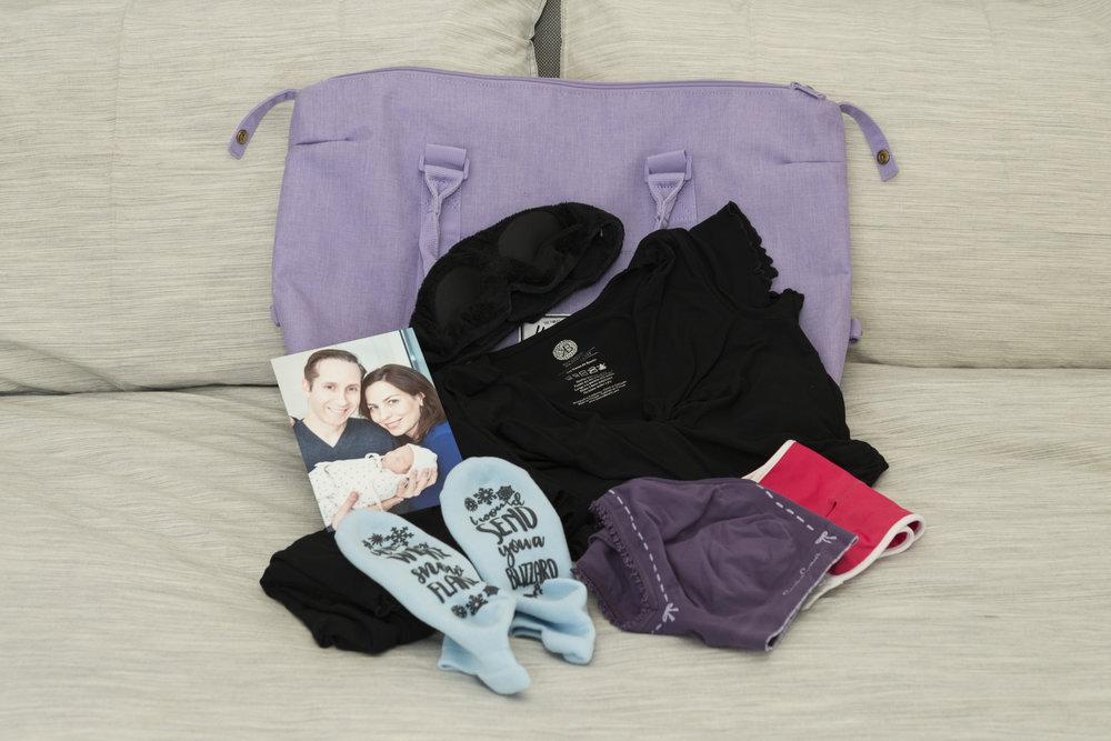The Very Best Baby Stuff - Hospital Bag (2)
