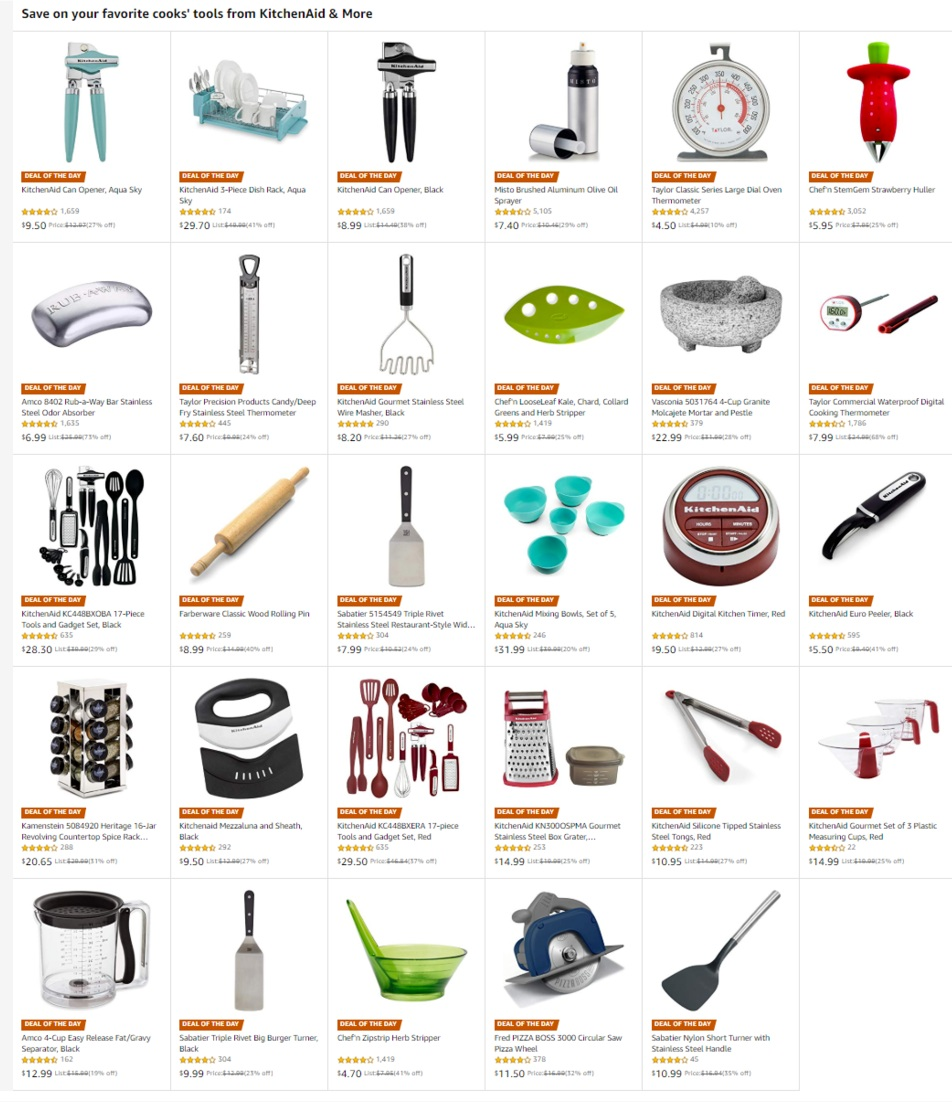kitchen aid sale