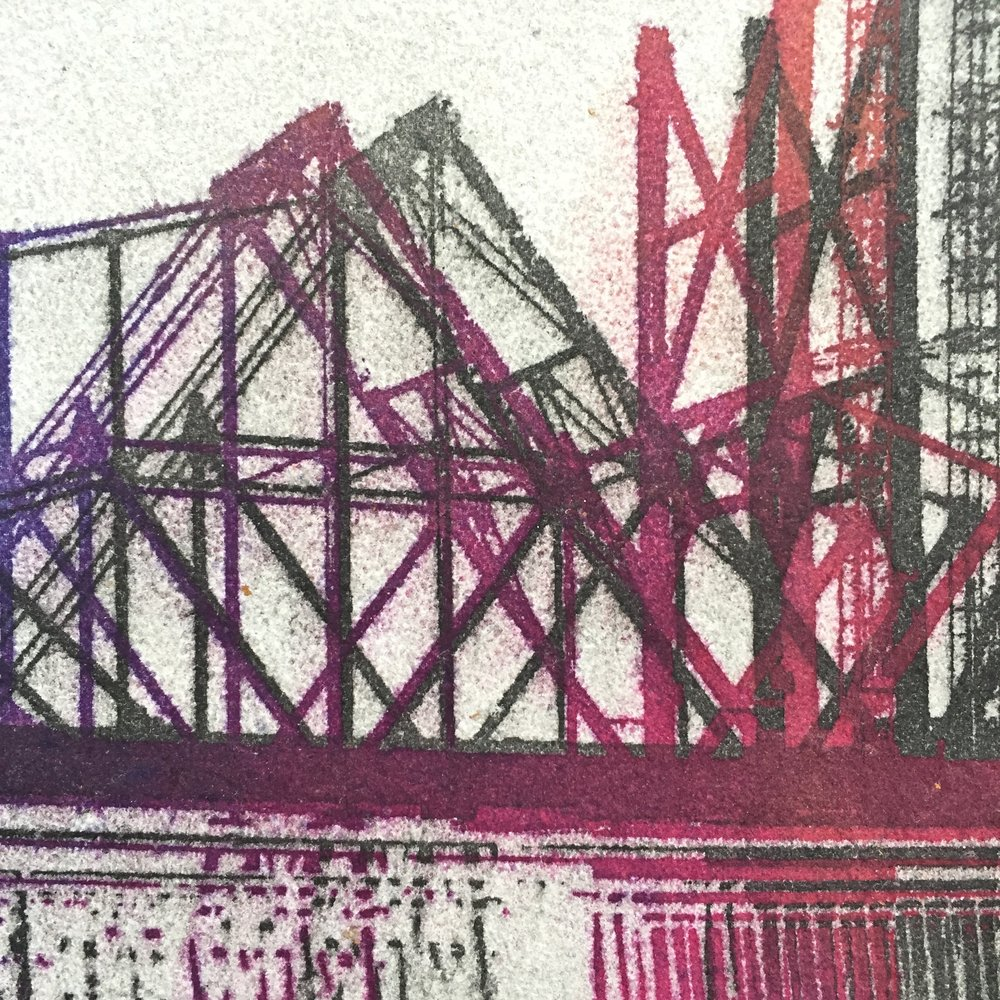 Bay Bridge (Detail)