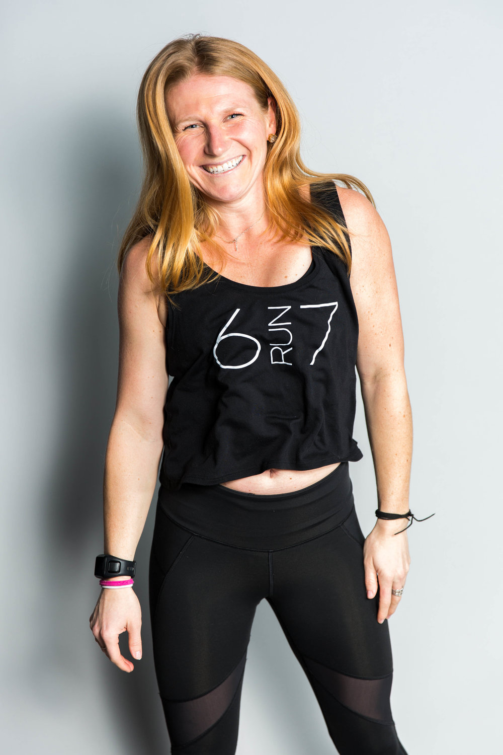 CARA - Instructor CARA FOUND HER LOVE FOR RUNNING POST COLLEGE. IN COLLEGE SHE PLAYED TENNIS AT SAINT MICHAEL'S IN VERMONT, AND AFTER SHE GRADUATED SHE HAD THE OPPORUNITY TO RUN THE BOSTON MARATHON AND SHE WAS FOREVER HOOKED. SHE WENT ON TO RUN 15 MARATHONS AND COUNTLESS OTHER RACES. SHE IS FULL OF SMILES, MOTIVIATION, AND LOTS OF MILES. SHE'LL BE RIGHT THERE WITH YOU SWEATING THROUGH EACH WORKOUT.