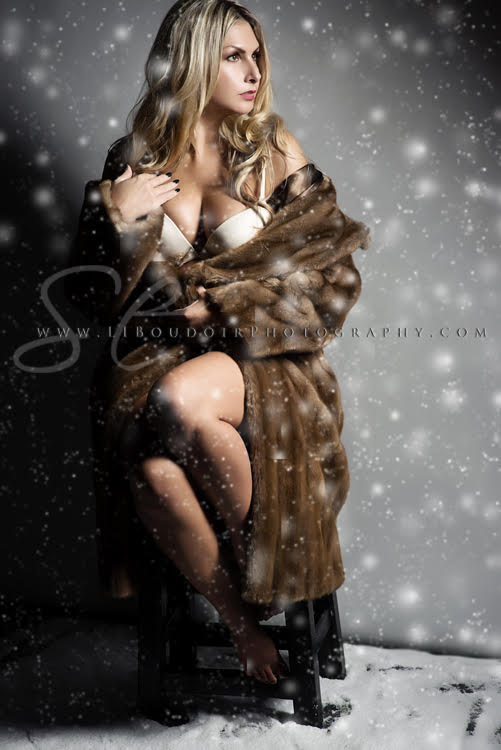 Give the gift of you this upcoming holiday season - from Long Island Boudoir Photography!