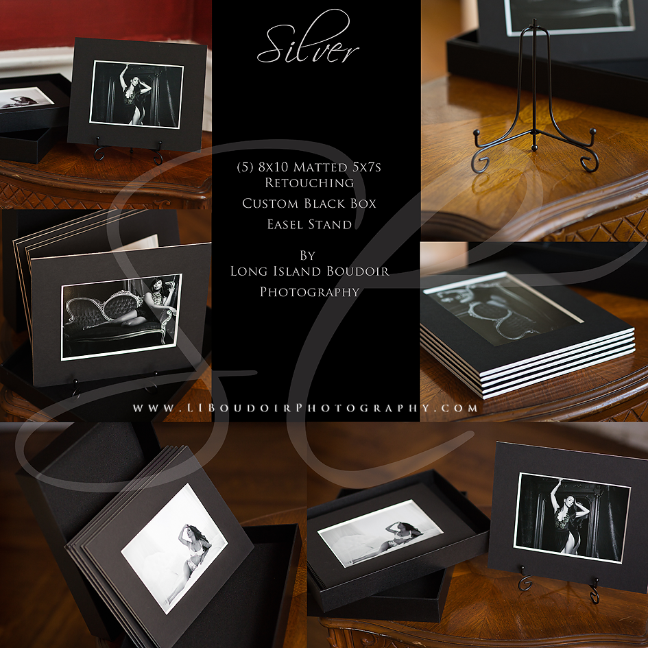 Silver Bundle for Boudoir Lite/Boudoir Mini Sessions