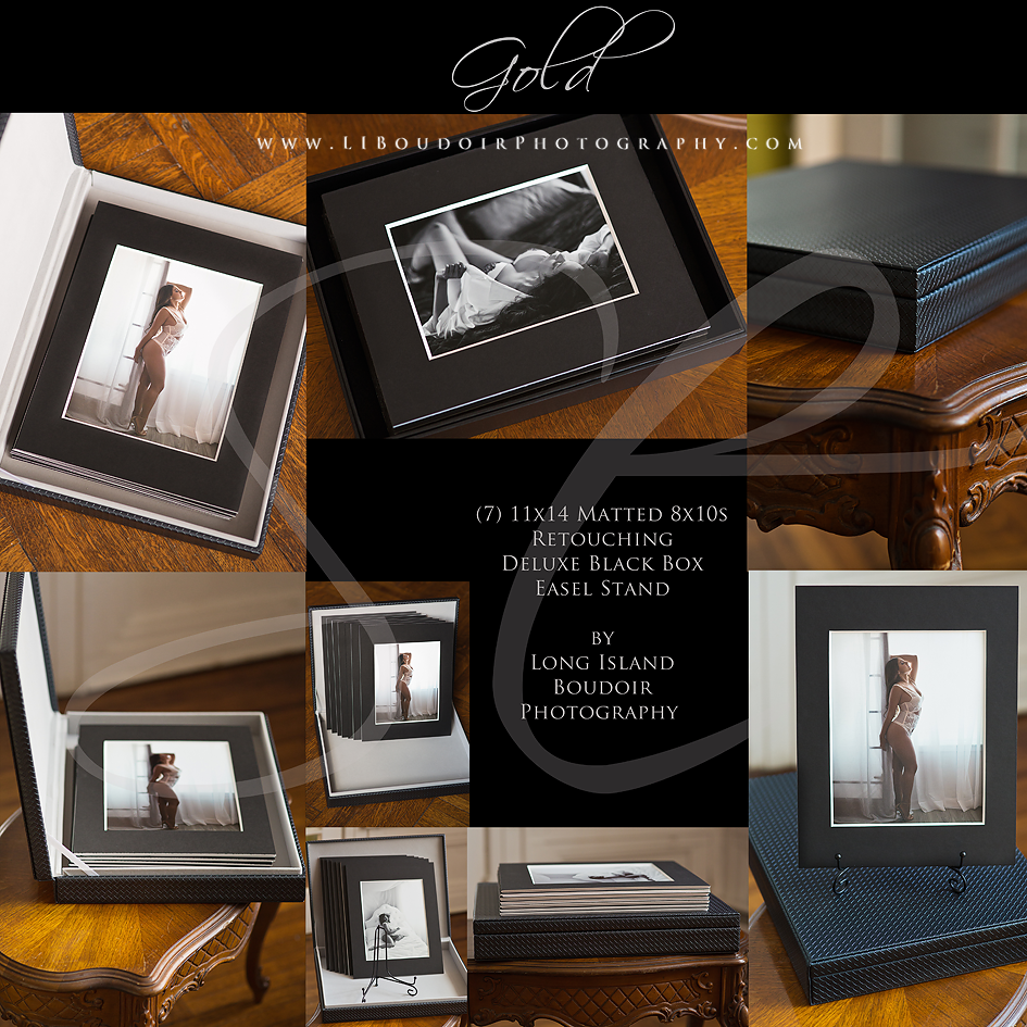 Gold Bundle for Boudoir Lite/Boudoir Mini Sessions