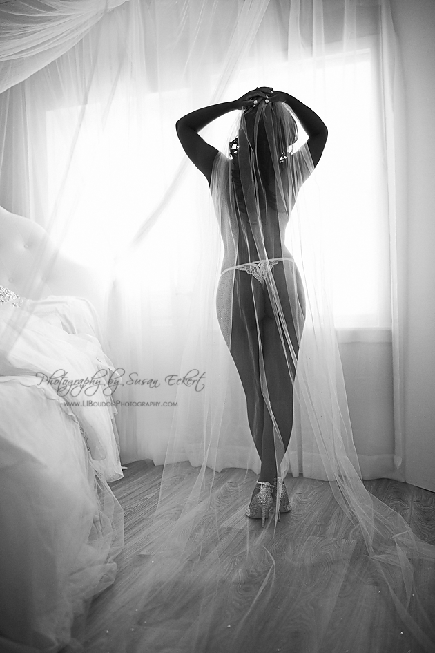 Bridal Boudoir by Susan Eckert of Long Island Boudoir Photography