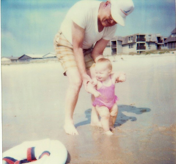 Throwback of Baby Me with my Papa