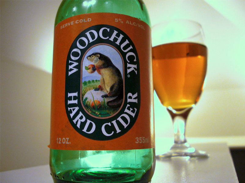 That woodchuck would chuck cider