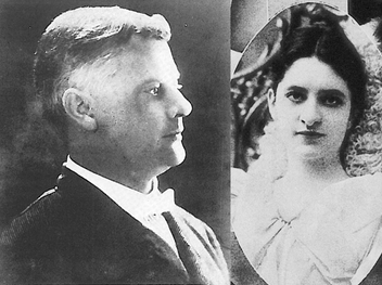 King Edward R. Gunby and Queen Mary Lee Dodge - 1904