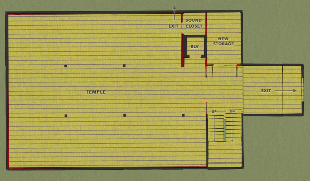 New Temple Plan