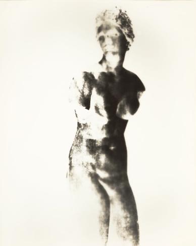 Aphrodite III  16 x 20 inches Unique Gelatin Silver Paper Negative