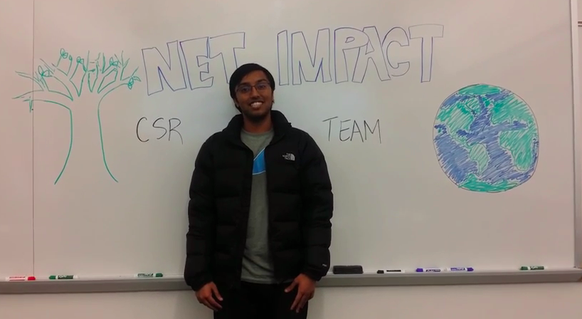Members create a video on why they care about Corporate Social Responsibility