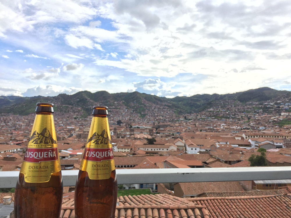 Cusquena. Beer of Cuzco. Now how can I get them to hire me for their IG?