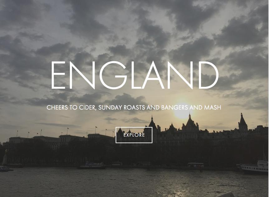 England Trip Guide