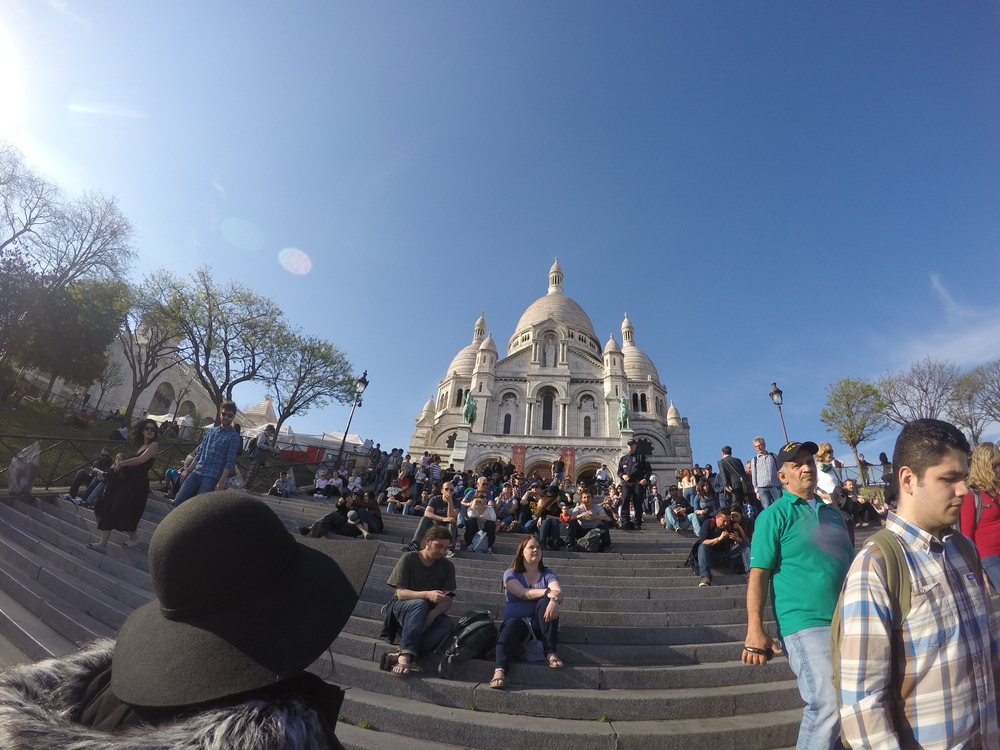 Sacre Bleu! It's the Basilica of Sacre-Coeur !