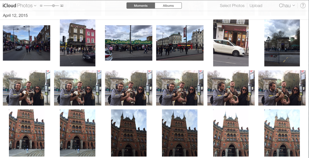 iCLOUD saved my pictures after I lost my phone in Paris earlier this year