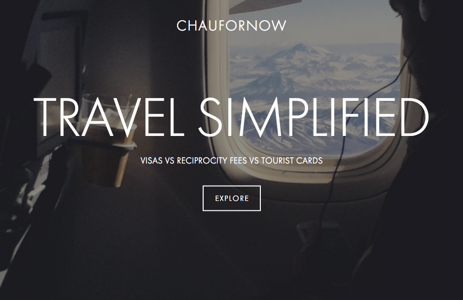 travel simplified: the difference between visas, reciprocity fees and tourist cards