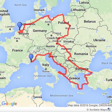 Euro Bike Trip