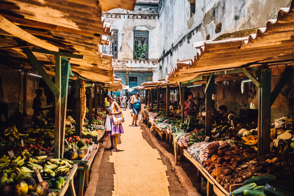 Food Market in Old Havana
