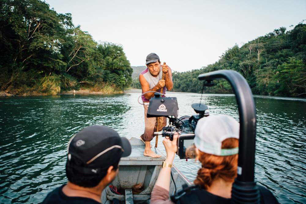 Behind the Scenes - Shooting in the Toa River, Baracoa