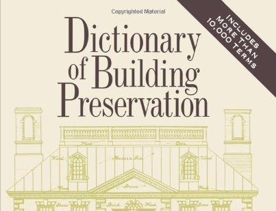 Grab your copy today! - After 22 years this is still a valuable resource for all things preservation, edited by one of our principals, Ward Bucher.