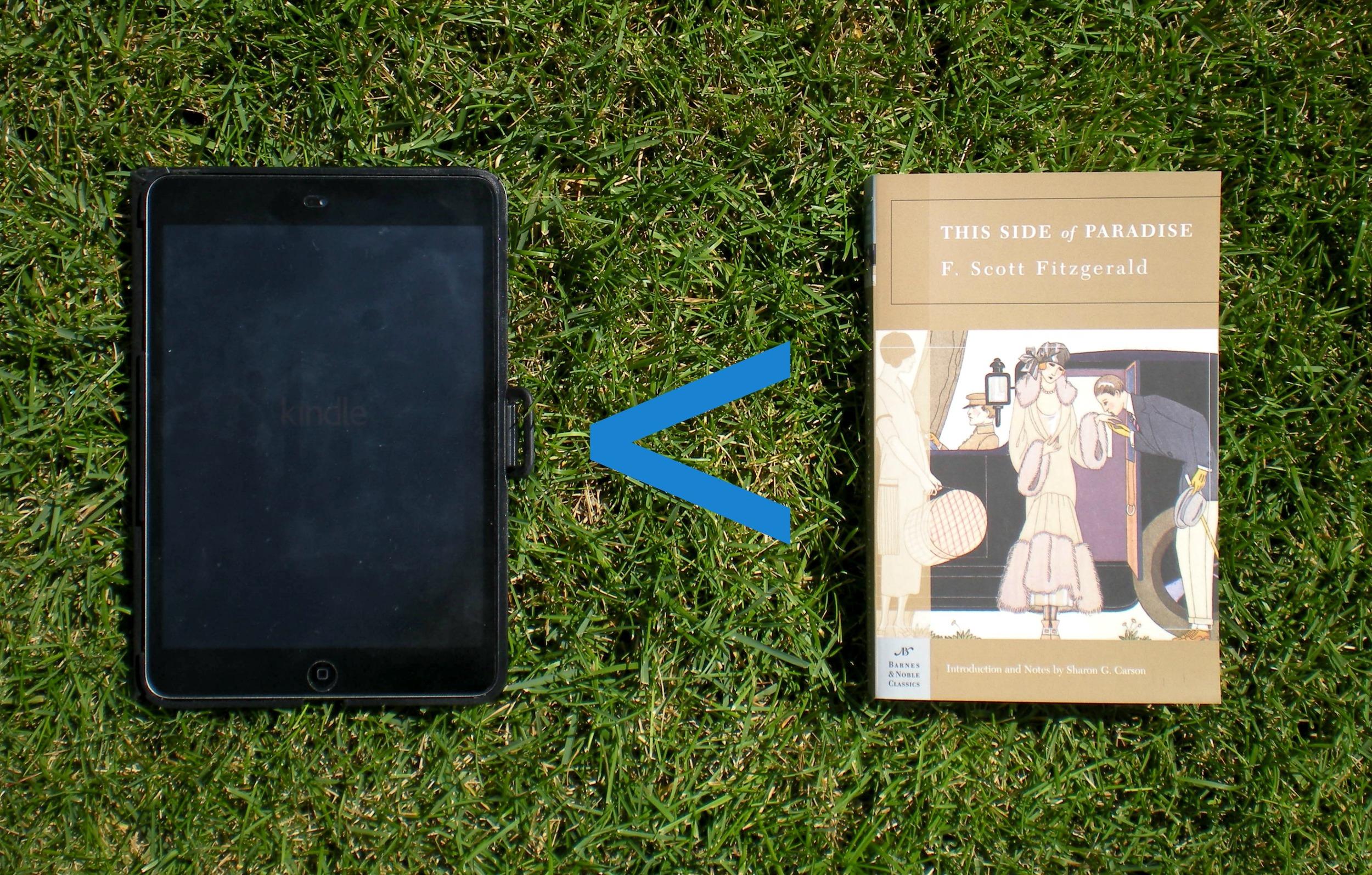 Books Rule, Kindles Drool