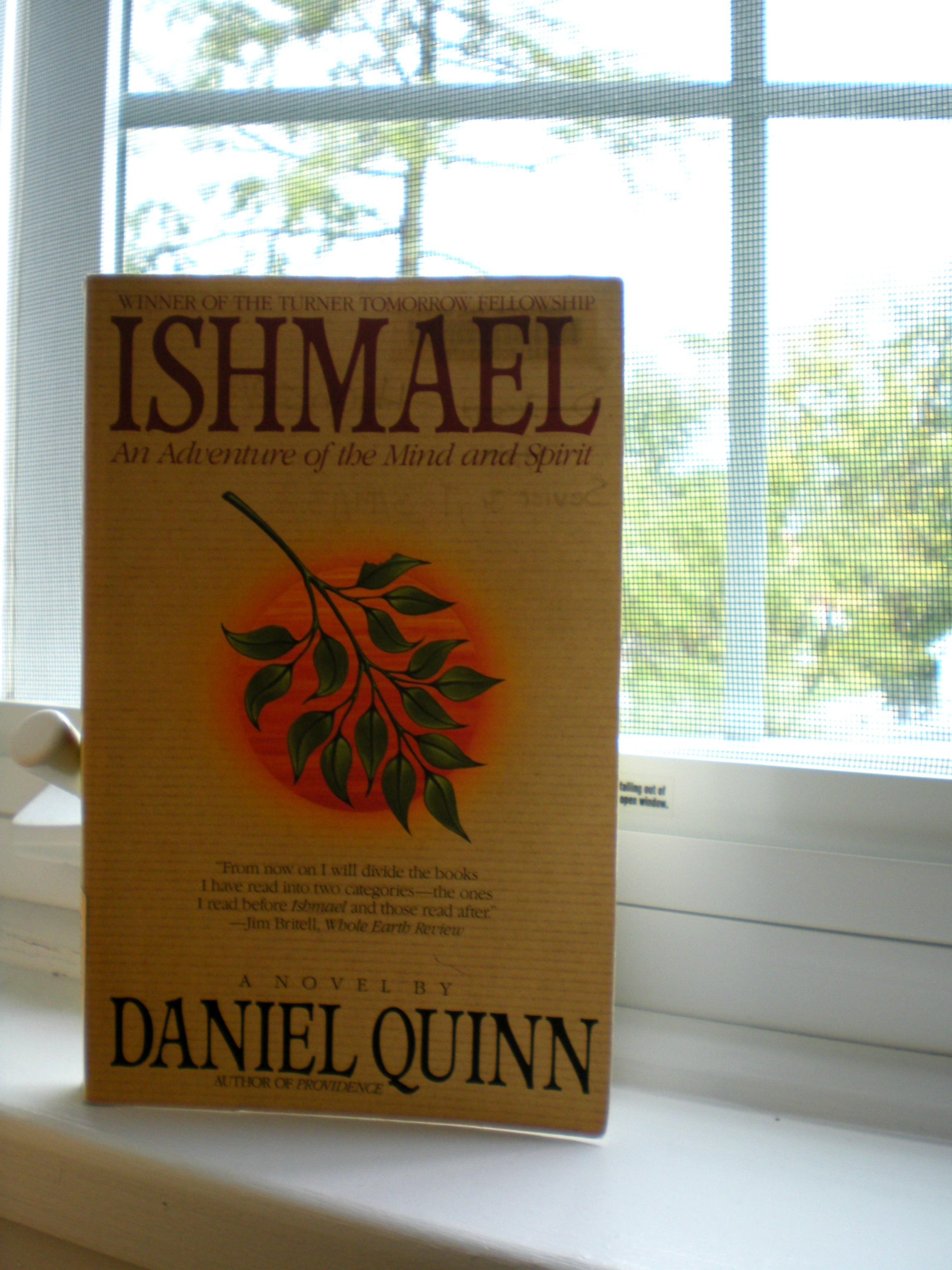 What I Read: Ishmael | Scribbling in the Margins blog