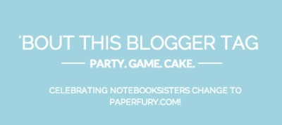 Bout This Blogger Tag | Scribbling in the Margins