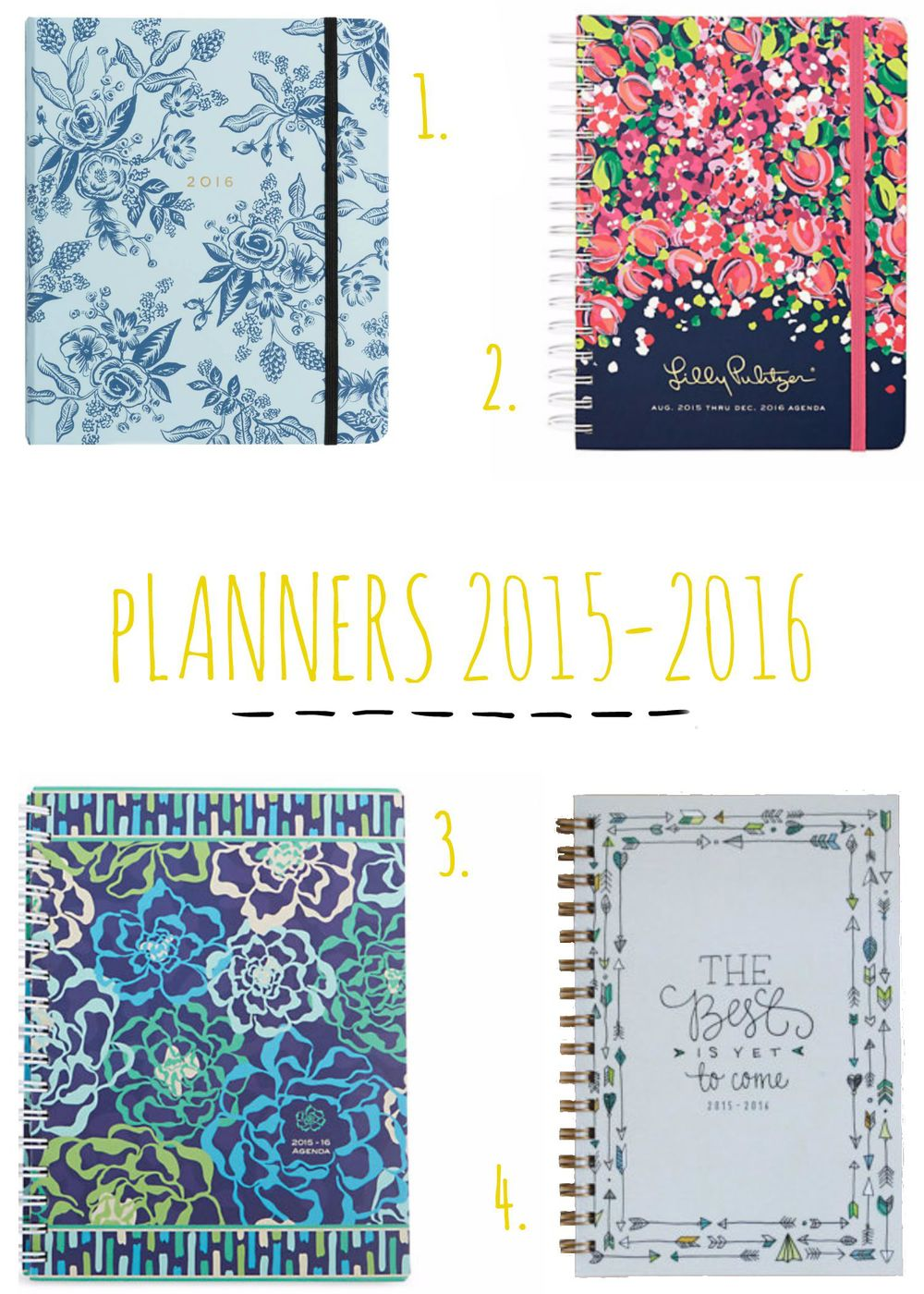 Planners 2015-2016