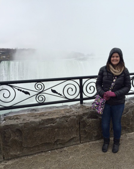 Niagara Falls is behind me, I swear.