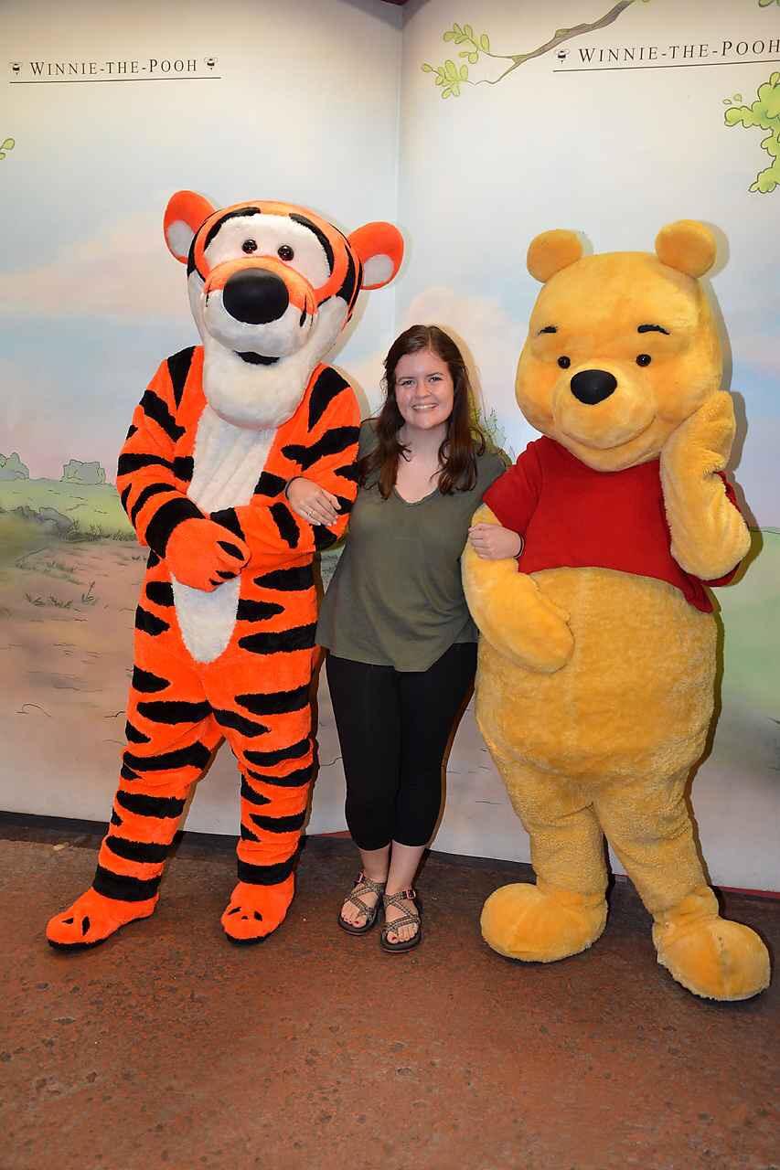 On Happy Winnie the Pooh Day, I had to go visits my dear friends.