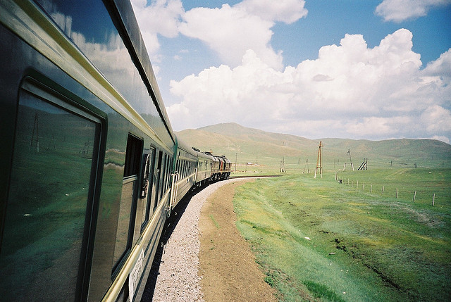 Trans-Siberian Railway. Photo credit: Boccaccio1 via Flickr Creative Commons