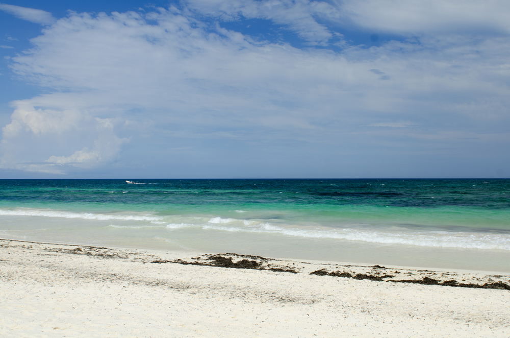 Stunning beaches of Tulum