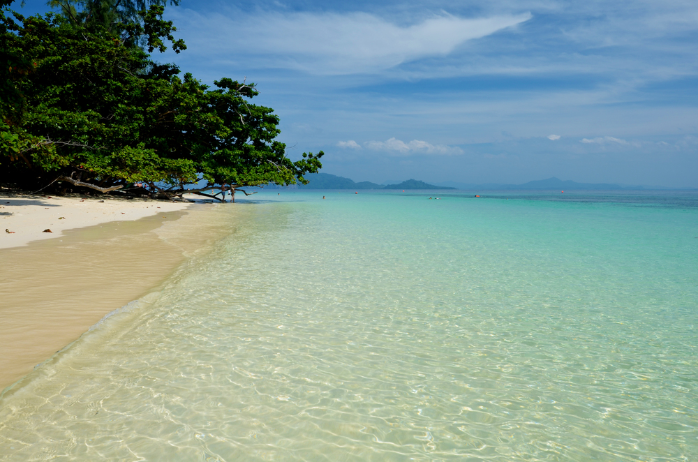 Koh Kraden offers some basic accommodations and I wish we'd stayed there with a view like this!