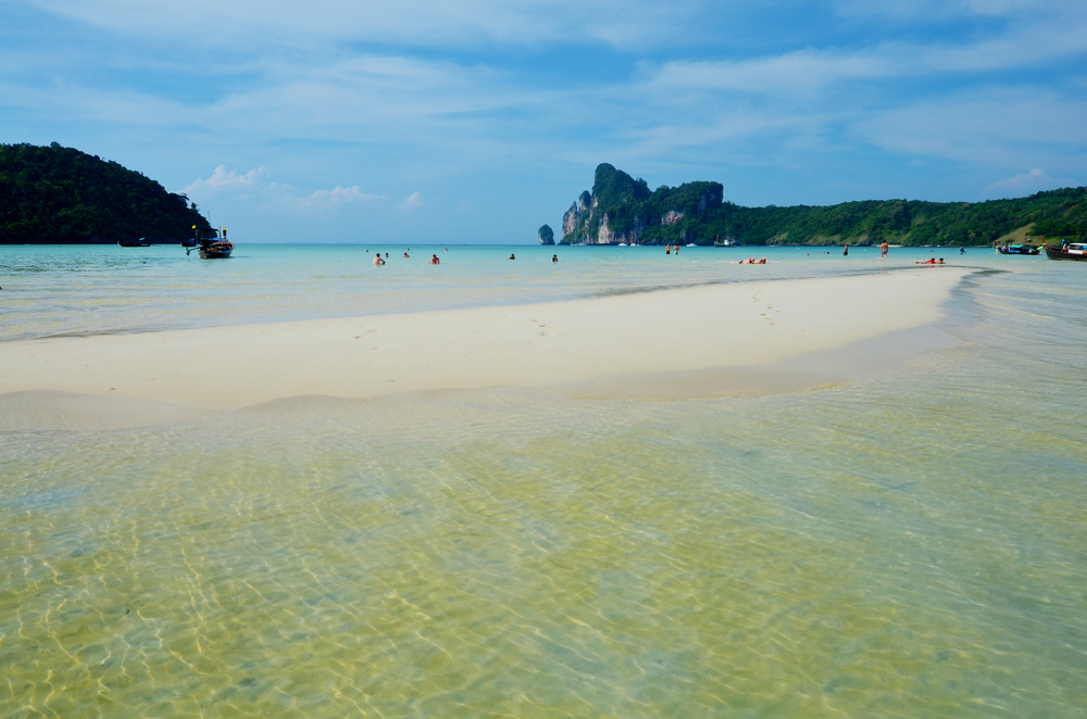 Main beach on Koh Phi Phi. No wonder this is such a popular island!