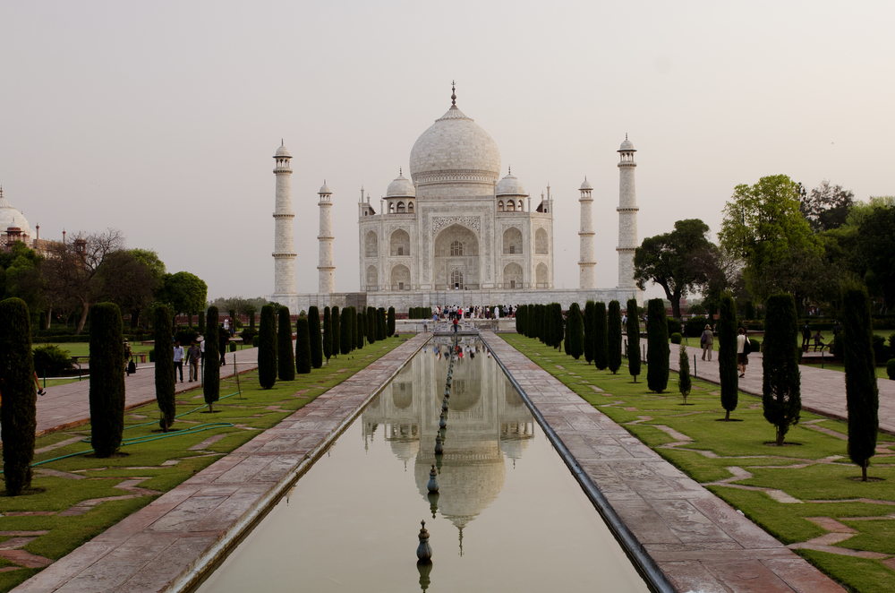 And of course there's the Taj Mahal