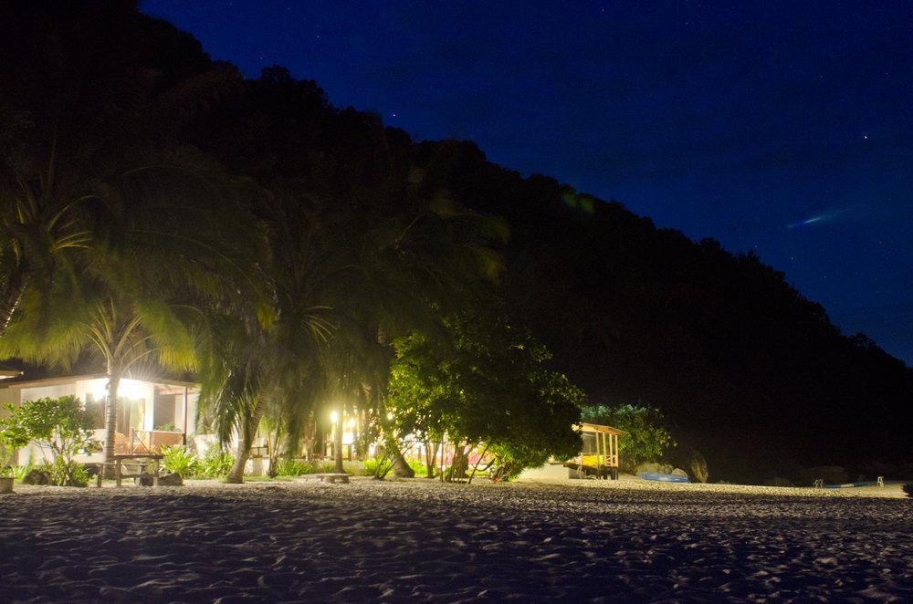 Wisana Village at night
