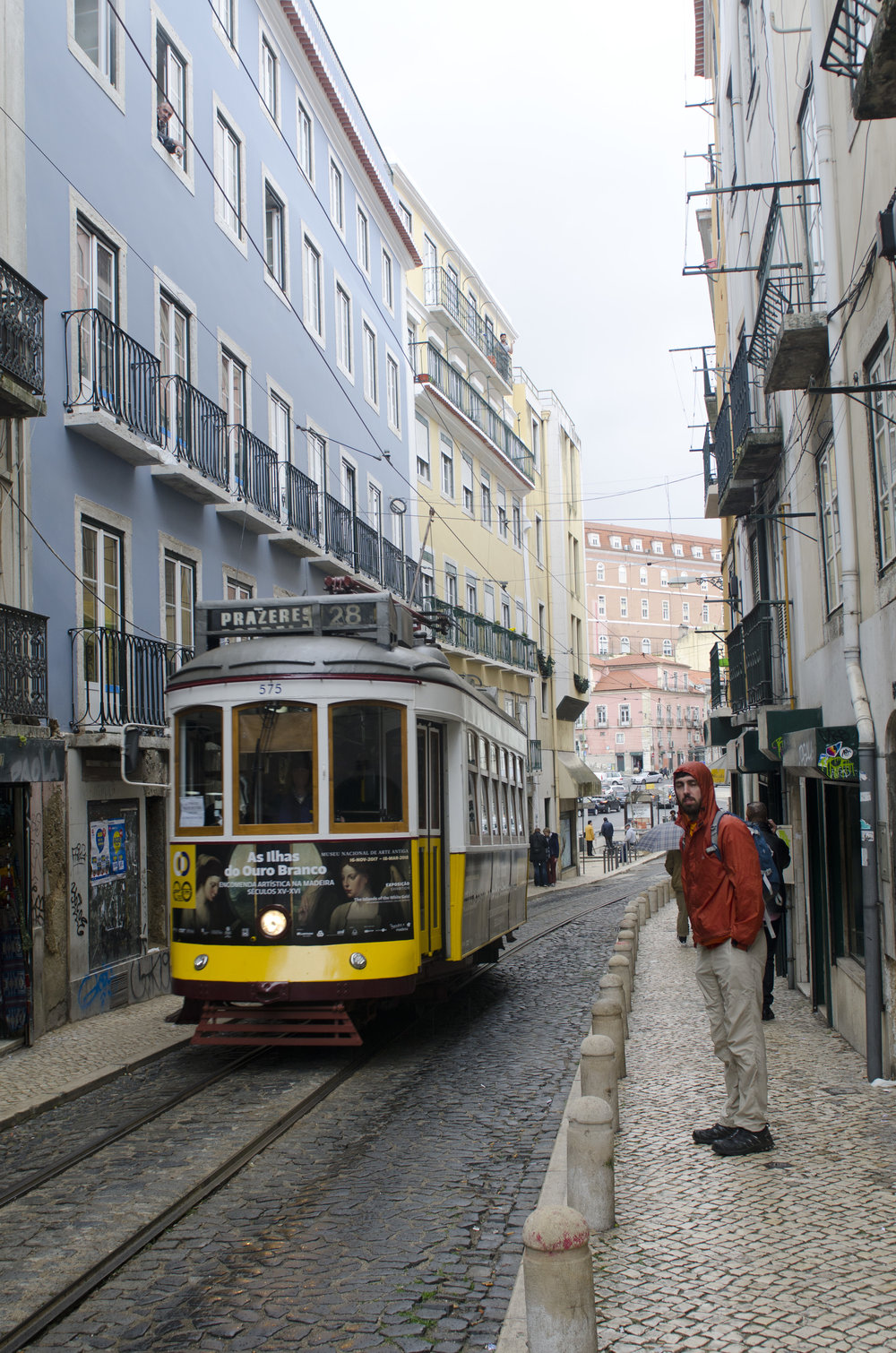 Loved riding this 1920s tram that is still part of Lisbon's public transport system