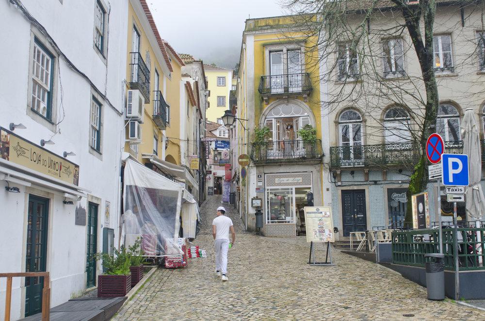 Entering Sintra