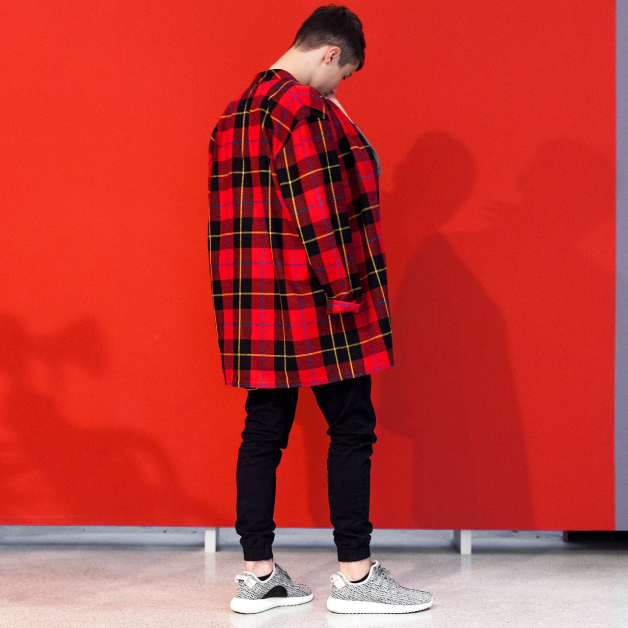 chichimaison :     Notable     Wool Red Shirt //  www.chichimaison.com