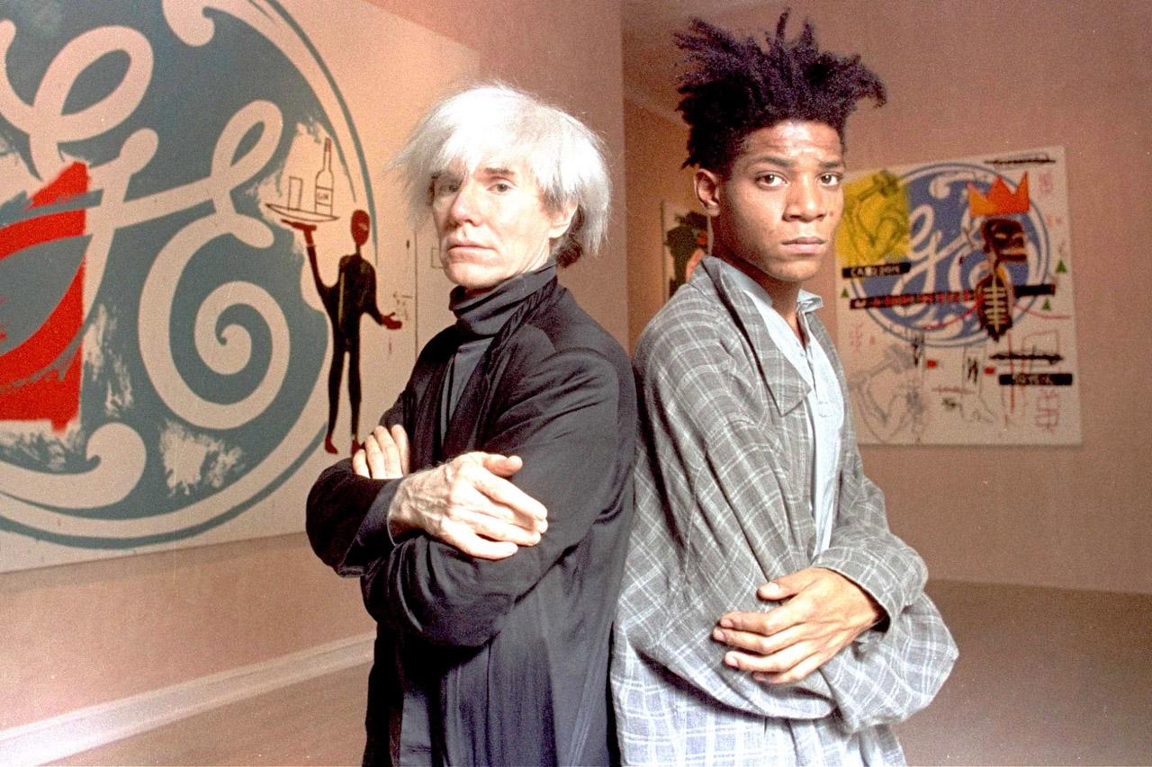voxsart :    1985.   Warhol and Basquiat.