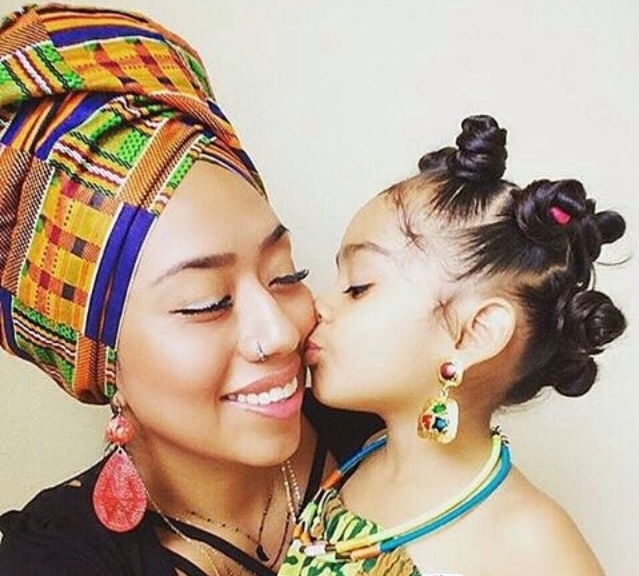 beautifulnubianqueen :     Black women teach your black children to love themselves from their skin color , to their hair , to their personalities, to their ancestors, to their history .