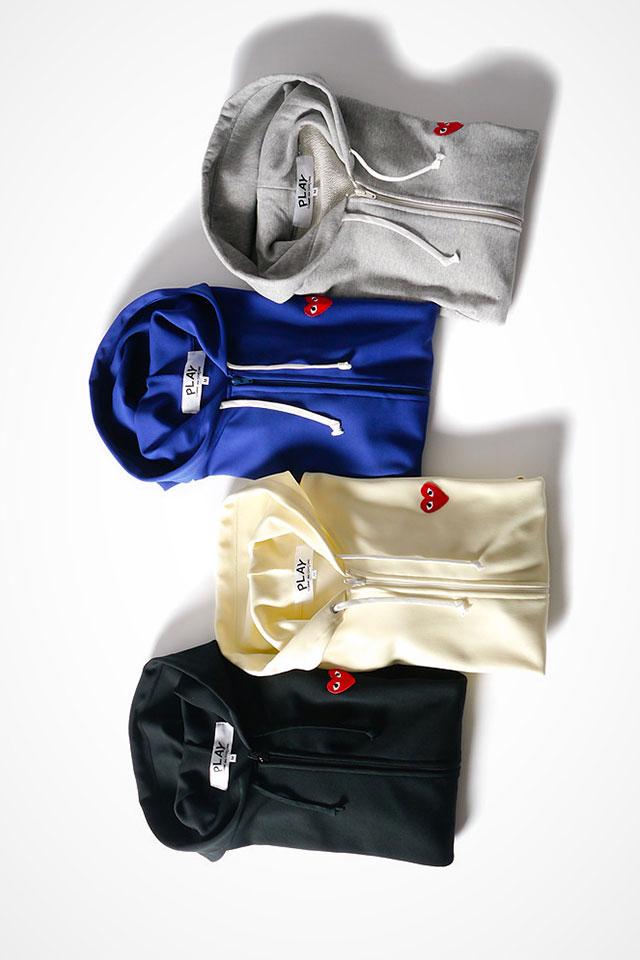 freshkings :     Commes des garcons Play Springsummer collection:  SHOP
