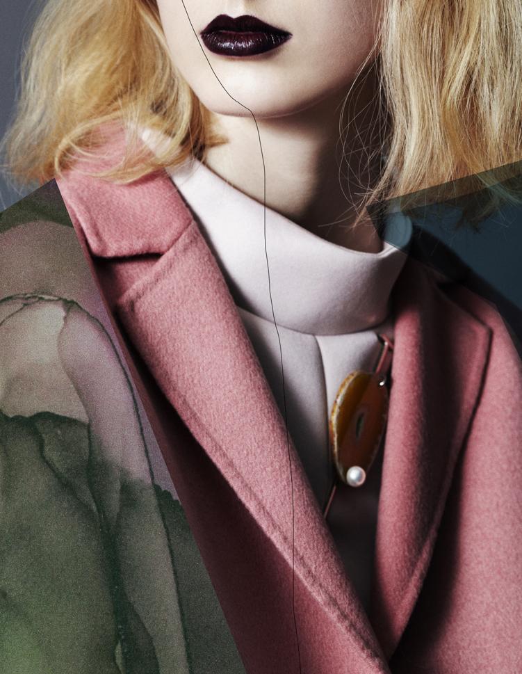 "bienenkiste :    ""Strange beauties"" . Photographed by Lea Nielsen for Vogue.it March 2014"