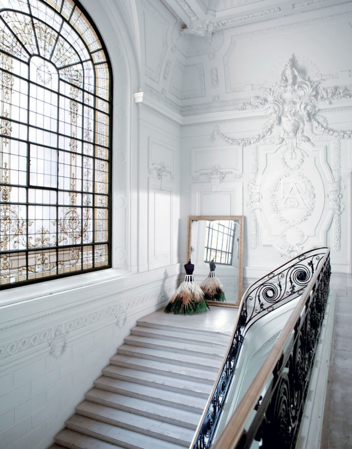 peone: Main staircase at House of Gaultier