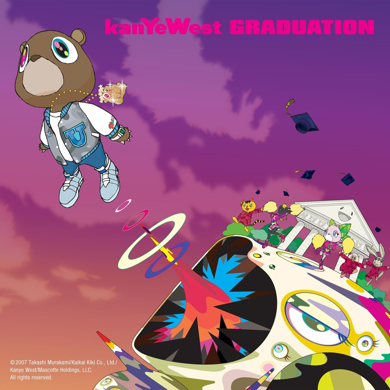upnorthtrips: On this day in 2007, Kanye West released his third album, Graduation.