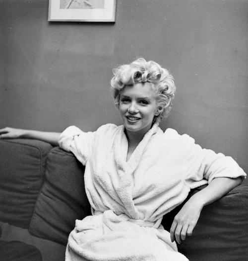 Marilyn during the filming of The Seven Year Itch in September 1954.