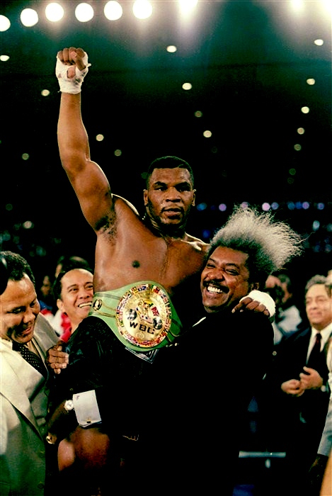 """My record will last for immortality. It will never be broken.""- Mike Tyson  (after becoming the youngest world heavyweight champion in boxing history)."